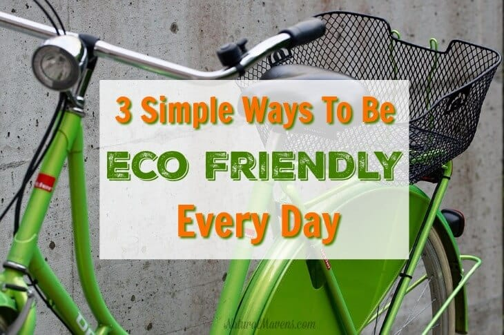 Ways to be eco friendly feature