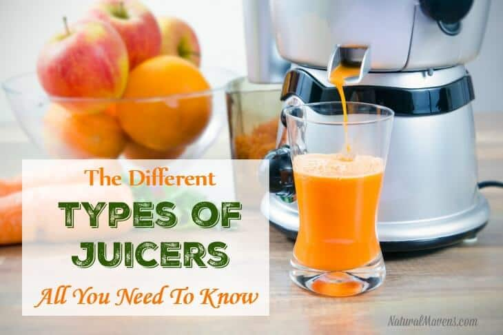 The Different Types of Juicers - All You Need To Know