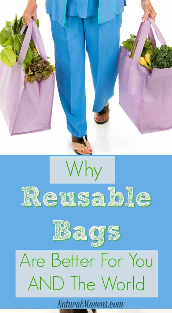 Why reusable bags are better for you AND the world.