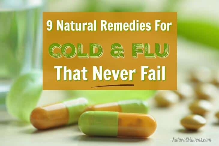 9 Natural Home Remedies for Flu - Natural Mavens