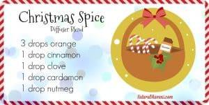 Christmas Spice Diffuser Blend - NaturalMavens.com
