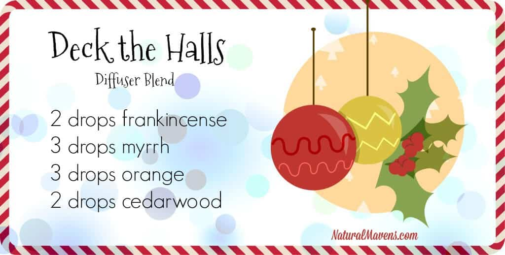 Deck The Halls, a Christmas diffuser blend - NaturalMavens.com