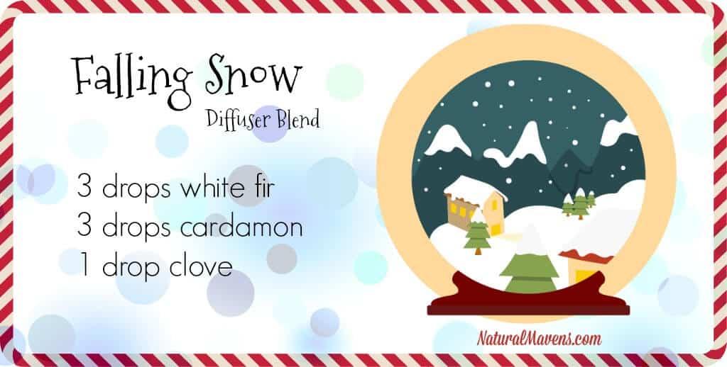 Falling Snow, a Christmas diffuser blend - NaturalMavens.com