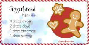 Gingerbread Diffuser Blend for Christmas - NaturalMavens.com