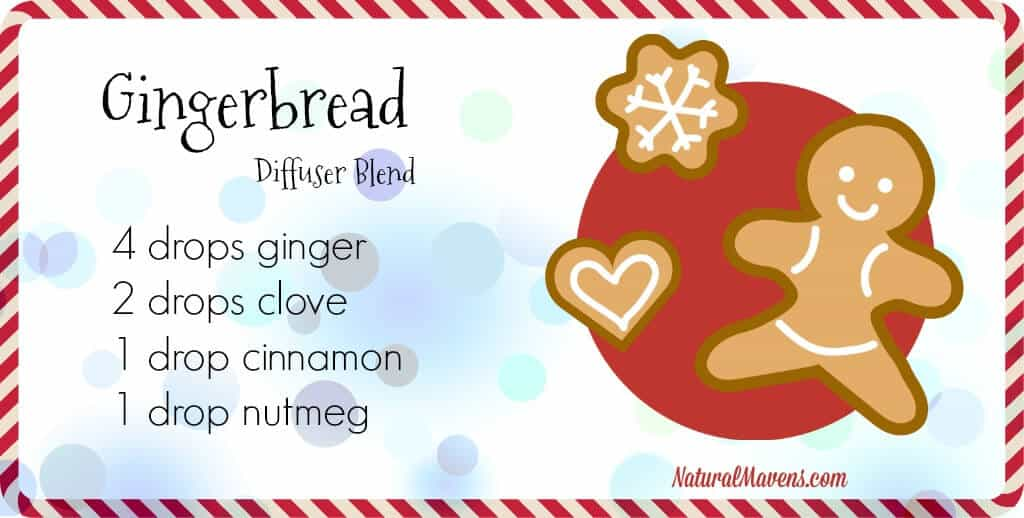 Gingerbread Diffuser Blend for Christmas - NaturalMavens.com