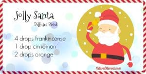 Jolly Santa Diffuser Blend for Christmas - NaturalMavens.com