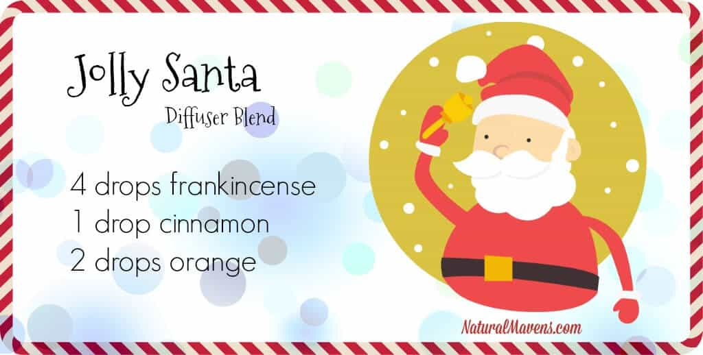 Jolly Santa Diffuser Blend for Christmas - NaturalMavens.com