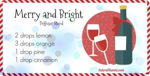 Merry and Bright Diffuser Blend for Christmas - NaturalMavens.com