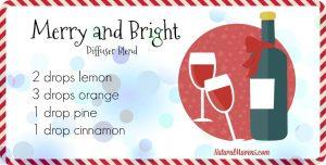 Merry and Bright Diffuser Blend for Christmas - NaturalMavens.com
