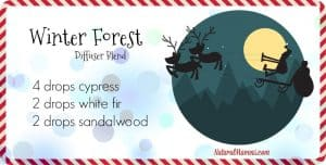Winter Forest Diffuser Blend for Christmas - NaturalMavens.com