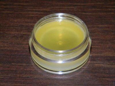 Peppermint Oil Lip Balm Step 4