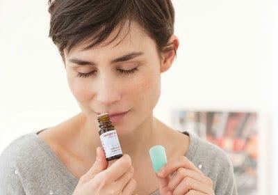 Direct Inhalation Bottle of Essential Oils