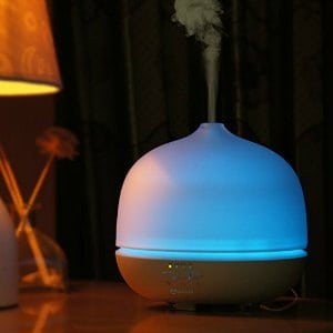 Apalus 500ml Glass Aromatherapy Essential Oil Diffuser