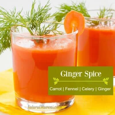 Ginger Spice Carrot Juice Recipe