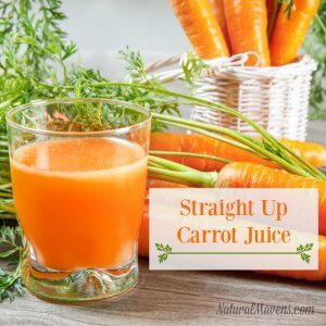 Straight Up Carrot Juice