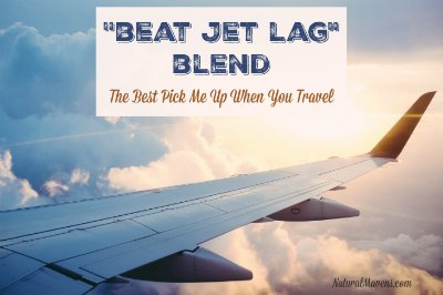 """Beat Jet Lag"" Blend: The Best Pick Me Up When You Travel"