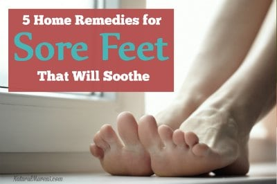 5 Home Remedies for Sore Feet That Will Soothe