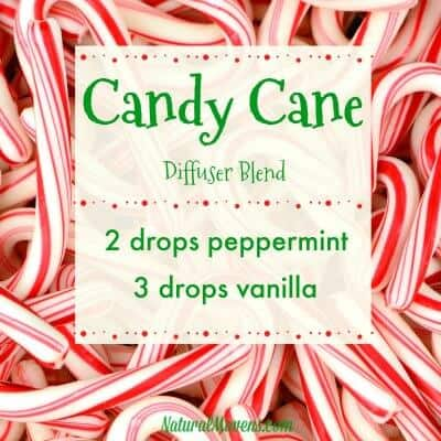 Candy Cane Christmas Essential Oil Blend