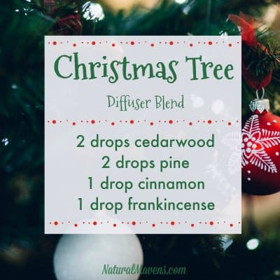 Christmas Tree Diffuser Blend