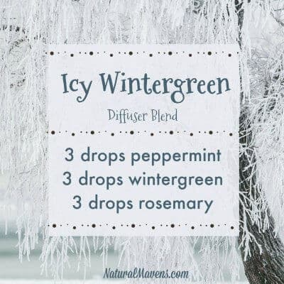 Icy Wintergreen Diffuser Blend