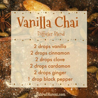 Vanilla Chai Essential Oil Blend