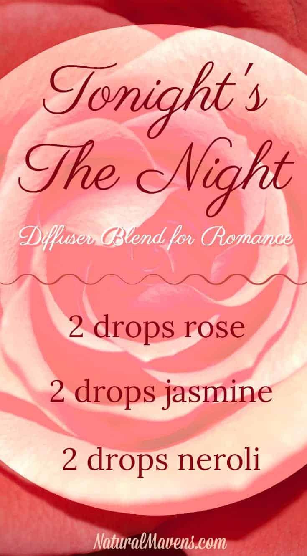Romantic Essential Oil Blend - Tonight's the Night