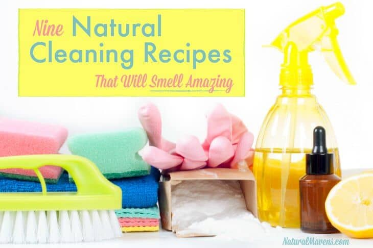 9 Natural Cleaning Recipes That Will Smell Amazing