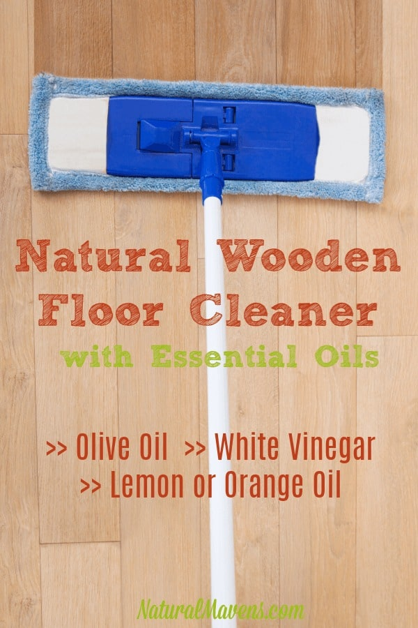 Natural Wooden Floor Cleaner with essential oils