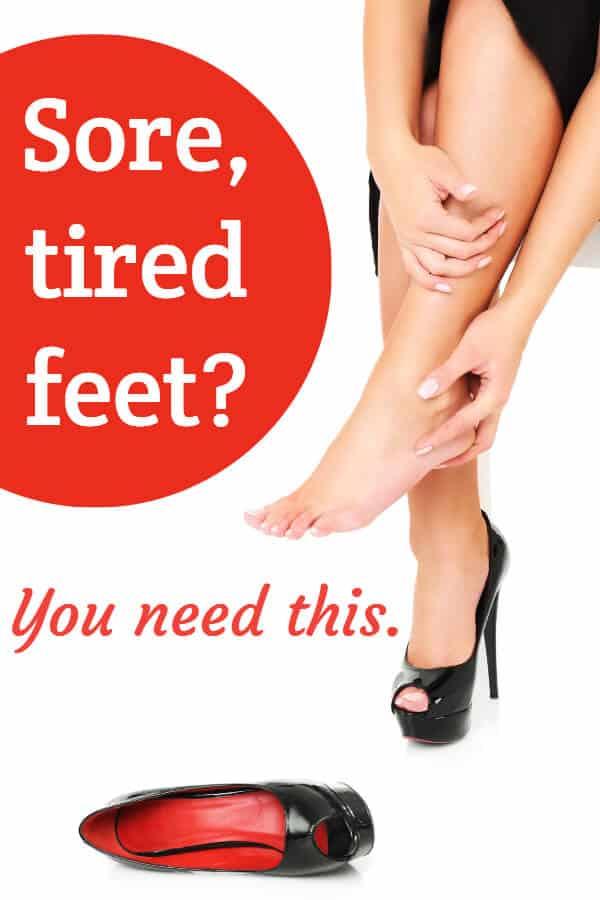DIY foot soak guide for sore, tired feet