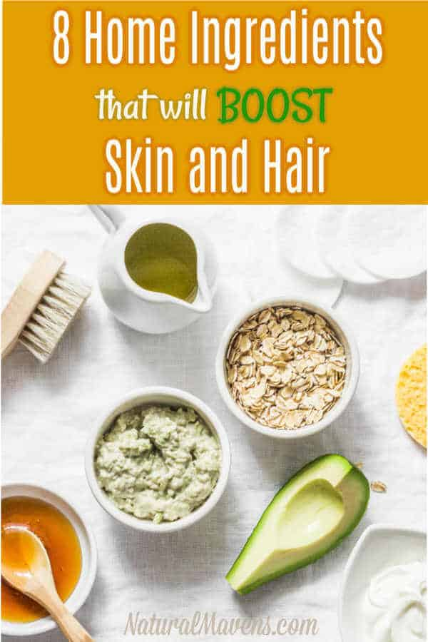 Home ingredients that will boost skin and hair