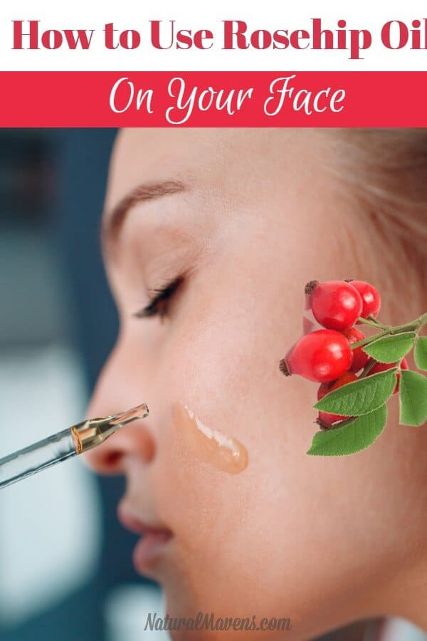 How to use rosehip oil on your face for anti aging benefits.