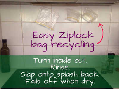 how to reuse sandwich bags