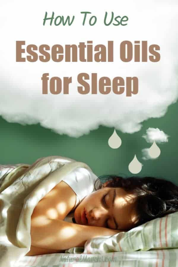 How to use essential oils for sleep